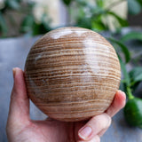 Large Aragonite Sphere