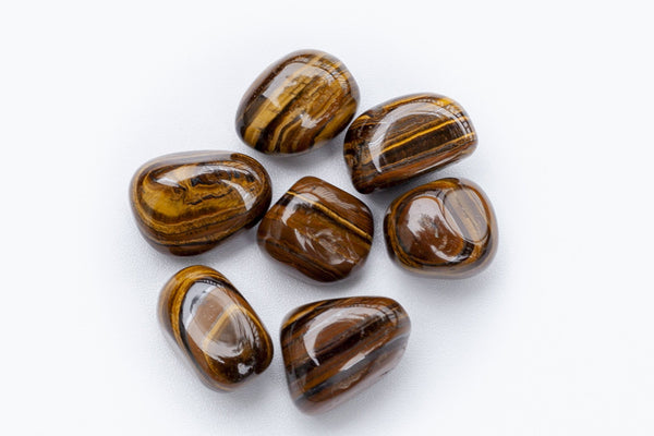 tumbled tiger's eye stones