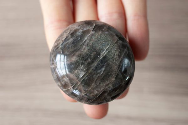 Black Moonstone Pebble