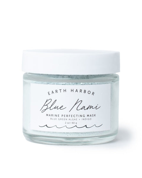 Blue Nami Coconut and Bentonite Clay Mask, Vegan MSM