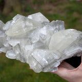 Phenomenal 8lb Twin Calcite with Pyrite Crystal Specimen
