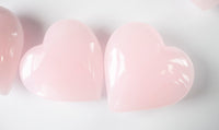 Giant Pink Calcite Stone Heart | 1.5lb