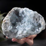 Celestite Geode, 3lb, Window