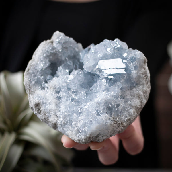 heart shaped geode
