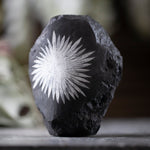 Tall Chrysanthemum Stone, 1lb 5oz