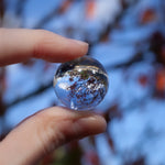 Clear Quartz Sphere, Mini 1in Crystal Ball