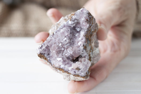 Cobaltoan Calcite Specimen with Large, Lavender Pink Crystals