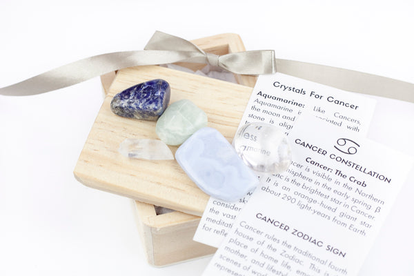 Crystals For Cancer Stones Sign Zodiac Astrology And Gift