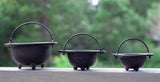 "Cast Iron Cauldron | 6"" Cauldron"