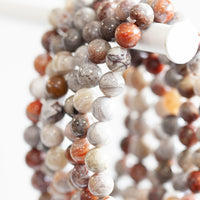 Crazy Lace Agate Bracelet, 8mm