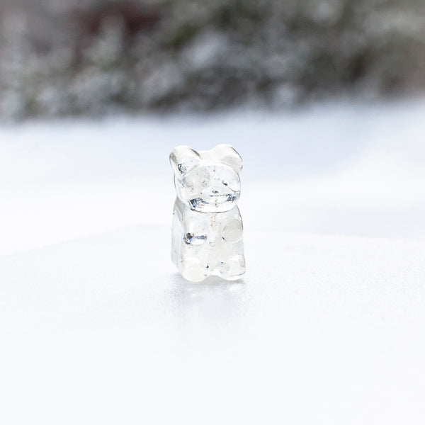 Clear Quartz Gemmy Bear