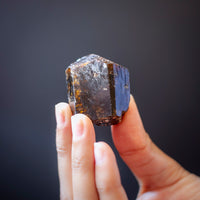 Dravite Specimen | Raw Brown Tourmaline Crystal