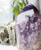 Giant Elestial Amethyst Point, 6lb Amethyst Tower