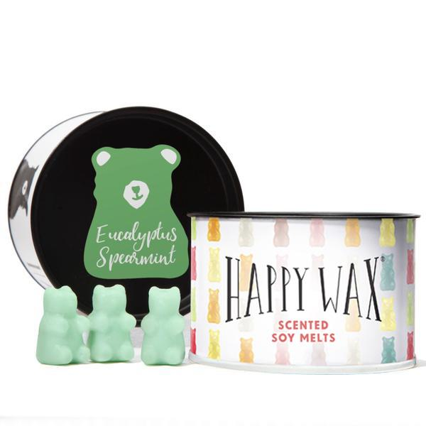 Eucalyptus Spearmint Wax Melts | Classic Tin of Teddy Bears