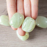 Striped Green Calcite Stones