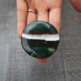 Green Sardonyx Palm Stone