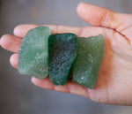 Emerald Tanzurine Quartz Set of 3 Crystal Specimens