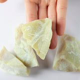 Healerite Stone | 4oz, Large, Raw Serpentine Stone