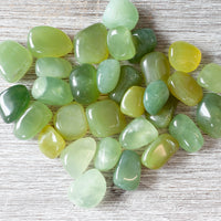 Jade Tumbled Stone, Green