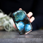 Labradorite Freeform, Blue, 1lb 5oz