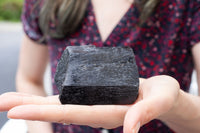 Black Tourmaline Stone | 13oz, High-Quality Terminated Specimen