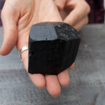 Black Tourmaline Stone | 12oz, High-Quality Terminated Specimen