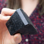 Black Tourmaline | High-Quality Terminated Specimen