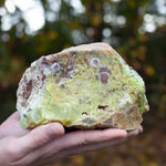 Green Opal, Large Raw Stone