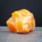 Orange Calcite Stone, 1lb 11oz, Raw