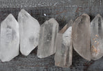 Bulk Raw Clear Quartz Points