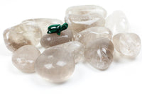 Smoky Quartz Tumbled Stones, Jumbo