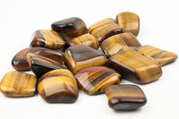 tiger's eye with hematite