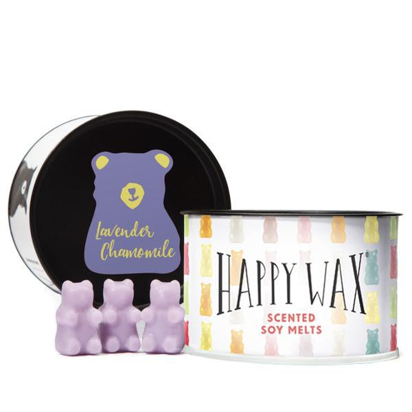 Lavender Chamomile Wax Melts | Classic Tin of Teddy Bears