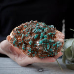 Malachite on Dolomite, 1lb 1oz