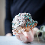Malachite on Dolomite, 1lb