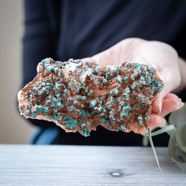 Malachite on Dolomite, 13oz