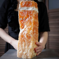 Giant Orange Calcite Crystal, Raw Tower, 22lbs