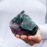 Rainbow Fluorite Free Form, 11oz