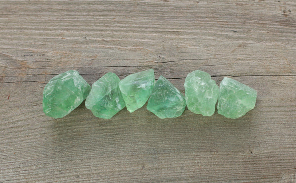 Green Fluorite Chunks