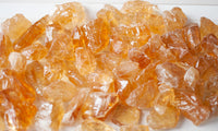 Honey Calcite Crystal | Raw, Golden Calcite Stone | 1in