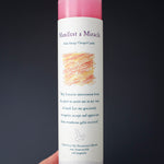 Manifest a Miracle Reiki Pillar Candle, Magnolia, Honeysuckle, Rose