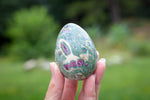 Ruby Fuchsite Egg