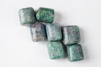Ruby in Fuchsite with Blue Kyanite | Grade A Tumbled Stones