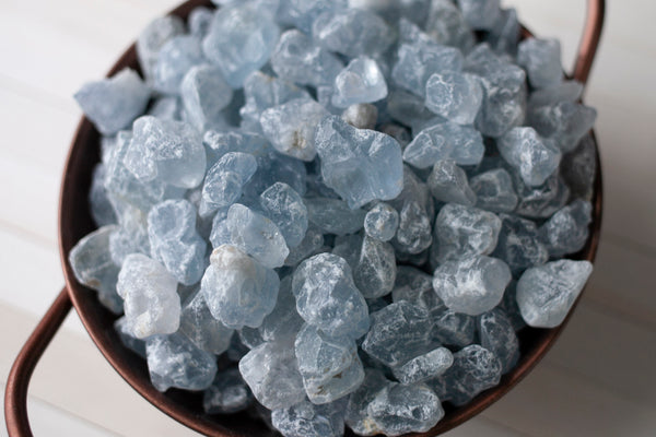 Raw Celestite Crystal