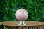 Rhodonite Sphere | Light Pink | Large, 50mm | RHO-0014