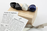 Sagittarius Zodiac Crystal Gift Set - Healing Stones for Sagittarius Sign