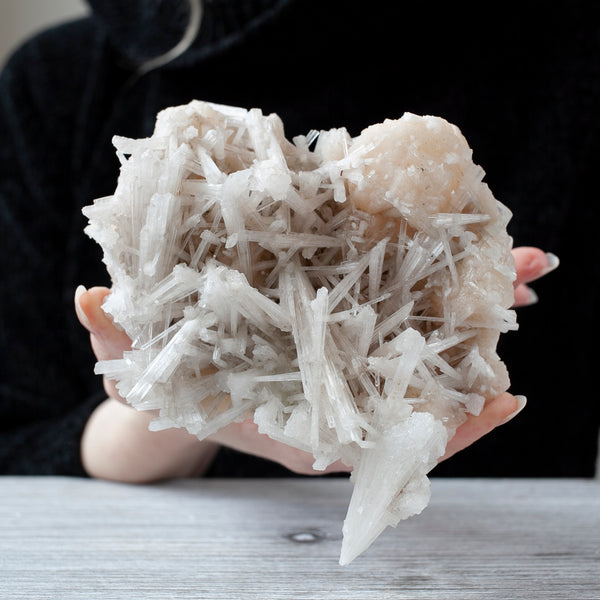 Scolecite with Stilbite, 1lb 4oz