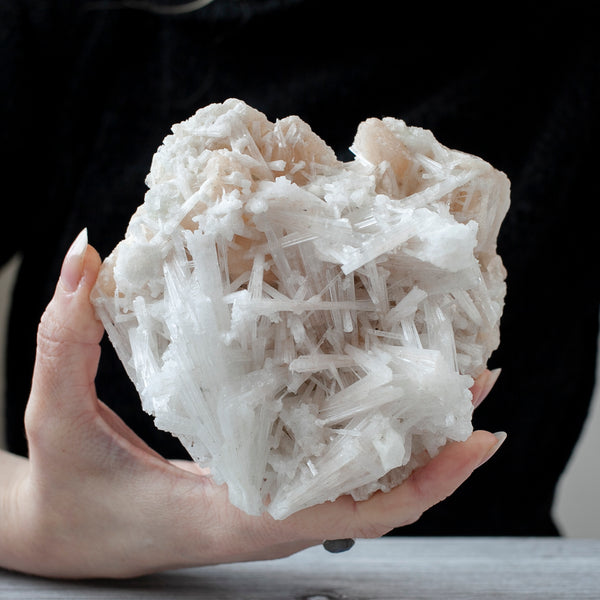 Scolecite with Stilbite, Apophyllite, 1lb 8oz