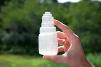 "Selenite Tower, 4"" White Selenite Crystal Towers"