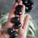 Shungite Stone, Small, Natural Shungite Tumbled Stone